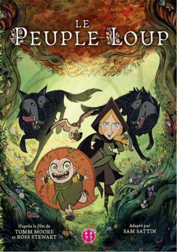 Couverture de l'album Le peuple loup (One-shot)