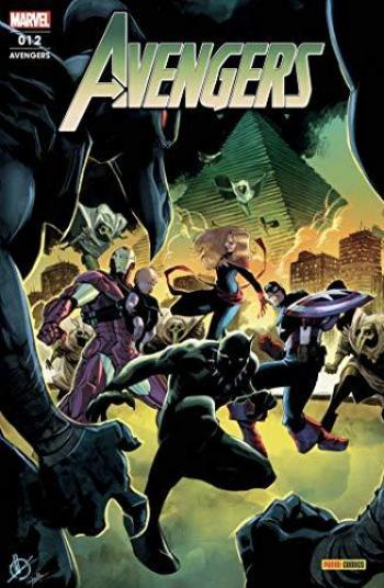 Couverture de l'album Avengers (V7, Fascicules) - 12. L'ere de Khonshu
