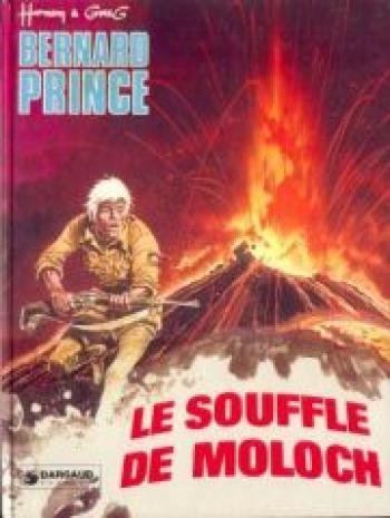 Couverture de l'album Bernard Prince - 10. Le souffle de Moloch