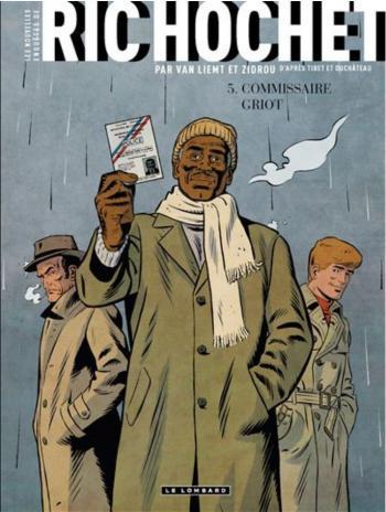 Couverture de l'album Les Nouvelles Enquêtes de Ric Hochet - 5. Commissaire Griot