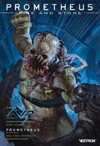 Couverture de l'album Vestron - 28. Prometheus : Fire and Stone tome 3