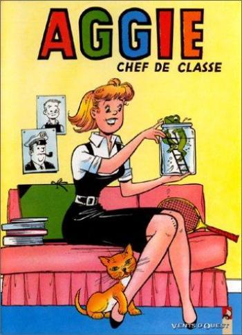 Couverture de l'album Aggie - 20. Aggie chef de classe