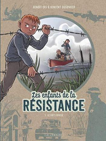 Couverture de l'album Les Enfants de la Résistance - 5. Le Pays divisé