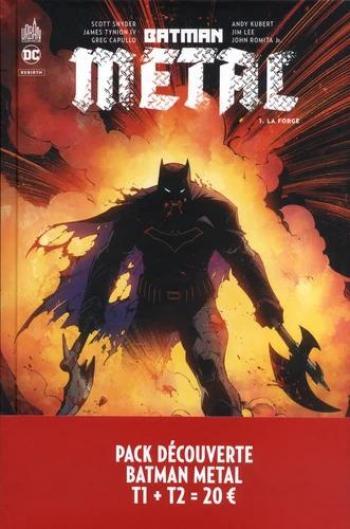Couverture de l'album Batman Métal - COF. Pack découverte Batman Métal