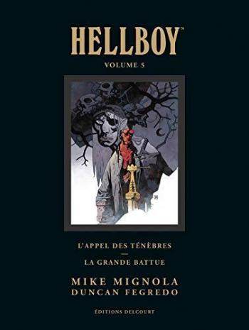 Couverture de l'album Hellboy - INT. Hellboy Deluxe Tome 5