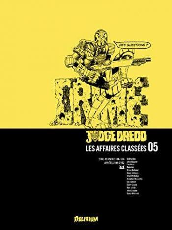 Couverture de l'album Judge Dredd : Les affaires classées - 5. Tome 5