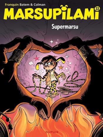 Couverture de l'album Marsupilami - 33. Supermarsu