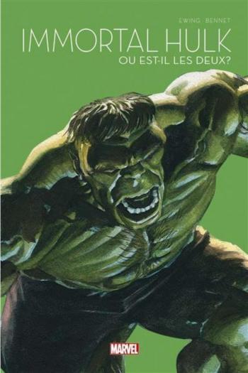 Couverture de l'album Le printemps des comics 2021 - 7. Immortal Hulk : Ou bien est-ce les deux ?