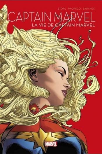 Couverture de l'album Le printemps des comics 2021 - 8. Captain Marvel : La vie de Captain Marvel