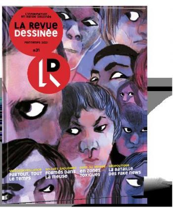Couverture de l'album La Revue dessinée - 31. Printemps 2021