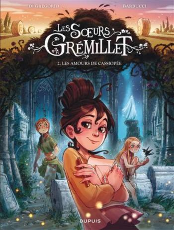 Couverture de l'album Les soeurs Grémillet - 2. Les amours de Cassiopée