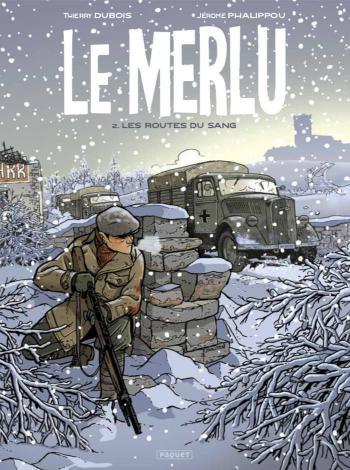 Couverture de l'album Le Merlu - 2. Les routes du sang