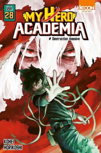 Couverture de l'album My Hero Academia - 28. Destruction massive