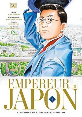 Couverture de l'album Empereur du Japon - L'histoire de l'empereur Hirohito - 4. L'histoire de l'empereur Hirohito