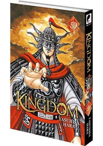 Couverture de l'album Kingdom - 59. Zhao peut trembler : l'audace de Qin a payé. Les soldats du Général Ousen sont dans la place !!