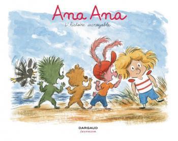 Couverture de l'album Ana Ana - 18. L'histoire incroyable