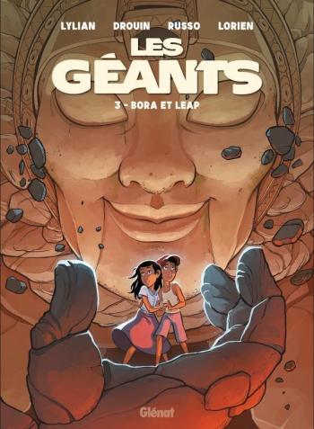 Couverture de l'album Les Géants - 3. Bora et Leap