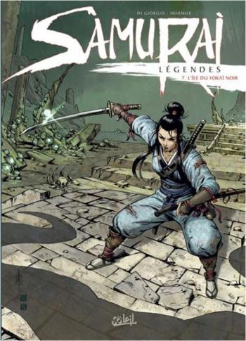 Couverture de l'album Samurai Légendes - 7. L'Île du yokaï noir