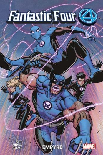Couverture de l'album Fantastic Four 4 (2018) - 6. Tome 6
