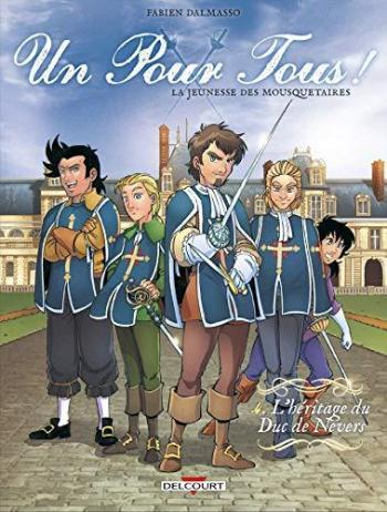 Couverture de l'album Un pour tous ! - 4. L'Héritage du Duc de Nevers
