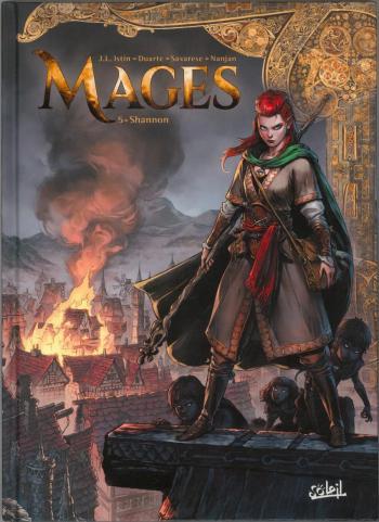 Couverture de l'album Mages - 5. Shannon