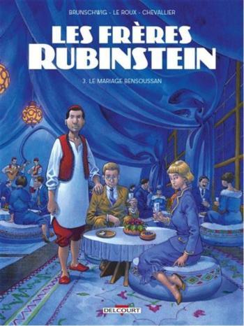 Couverture de l'album Les frères Rubinstein - 3. Le Mariage Bensoussan