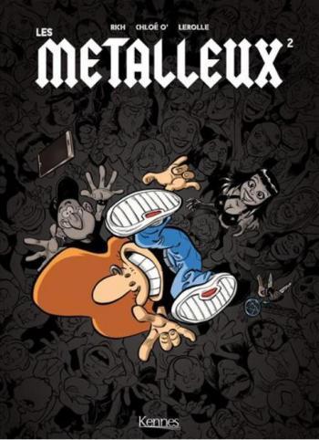 Couverture de l'album Les Métalleux - 2. Tome 2