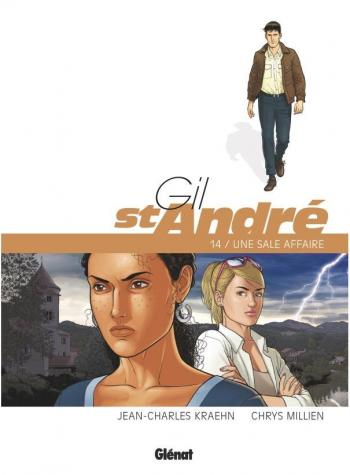 Couverture de l'album Gil St André - 14. Une sale affaire