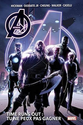 Couverture de l'album Avengers - Time Runs Out - INT. Volume 1: Tu ne peux pas gagner