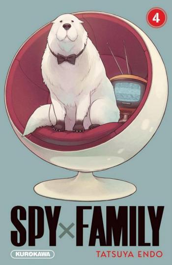 Couverture de l'album Spy x Family - 4. Tome 4