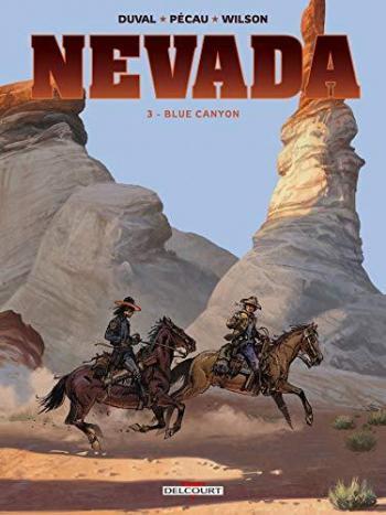 Couverture de l'album Nevada (Delcourt) - 3. Blue Canyon