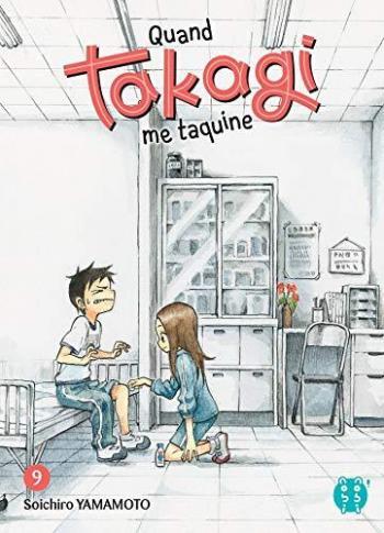 Couverture de l'album Quand Takagi me taquine - 9. Tome 9