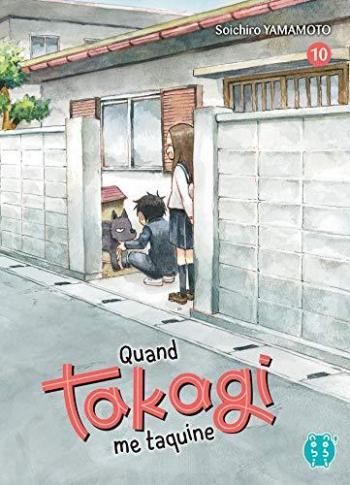 Couverture de l'album Quand Takagi me taquine - 10. Tome 10