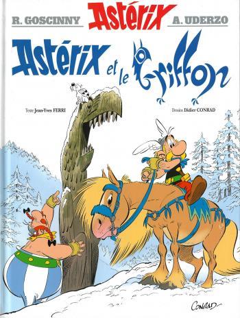 Couverture de l'album Astérix - 39. Astérix et le Griffon