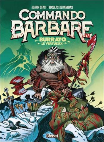 Couverture de l'album Commando Barbare - 1. Burrato le vertueux