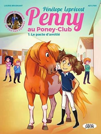 Couverture de l'album Penny au poney-club - 1. Le pacte d'amitié