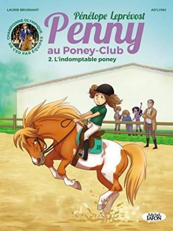 Couverture de l'album Penny au poney-club - 2. L'indomptable poney