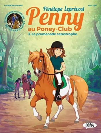 Couverture de l'album Penny au poney-club - 3. La promenade catastrophe