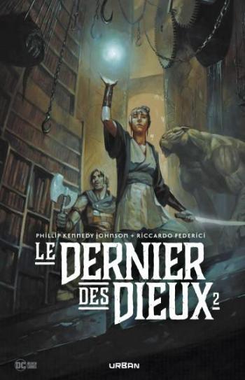 Couverture de l'album Le Dernier des Dieux - 2. Tome 2