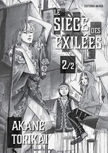 Couverture de l'album Le Siège des exilées - 2. Tome 2