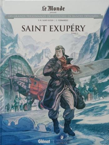 Couverture de l'album Les Grands Personnages de l'Histoire en BD - 60. Saint Exupéry - Tome 2