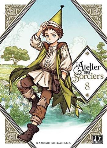Couverture de l'album L'Atelier des Sorciers - 8. Tome 8