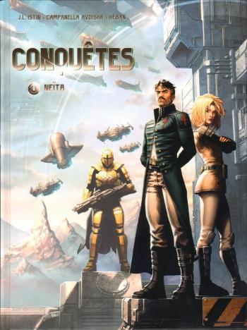 Couverture de l'album Conquêtes - 8. Neïta