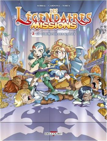 Couverture de l'album Les Légendaires - Missions - 2. La Cérémonie des Kadals