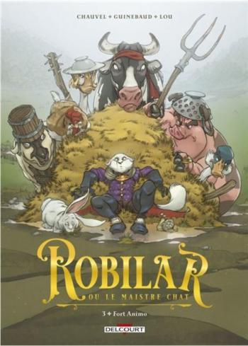 Couverture de l'album Robilar ou le Maistre Chat - 3. Fort Animo