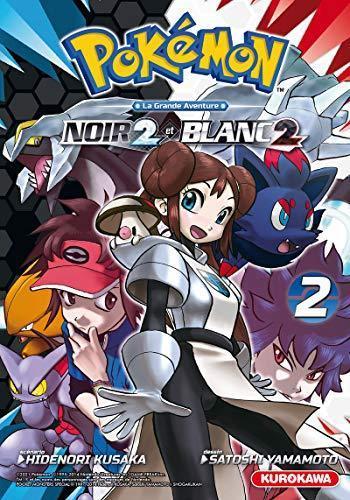 Couverture de l'album Pokémon - Noir 2 et Blanc 2 - 2. tome 2
