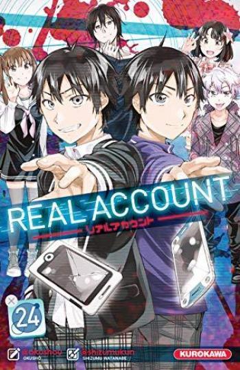 Couverture de l'album Real Account - 24. tome 24