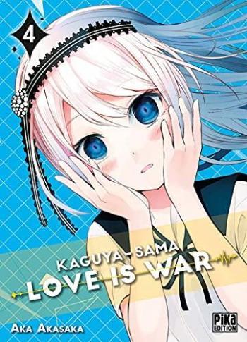 Couverture de l'album Kaguya-sama - Love is War - 4. tome 4