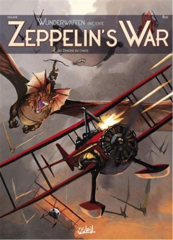 Couverture de l'album Zeppelin's War - 4. Les Démons du chaos