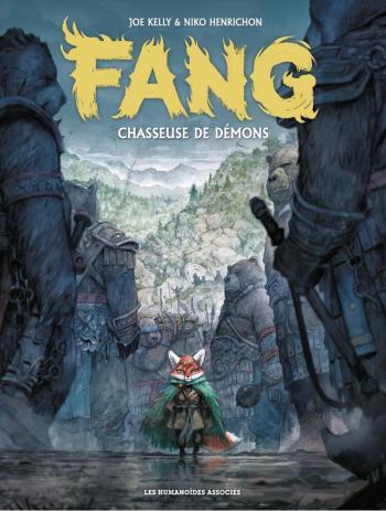 Couverture de l'album Fang - 1. Chasseuse de démon
